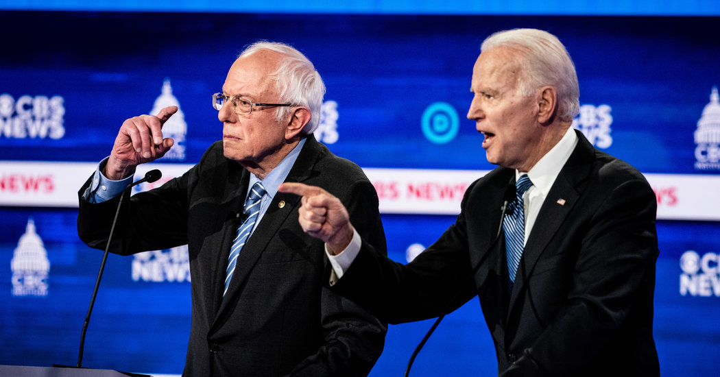 Throw Out the Debate Playbook: Biden and Sanders to Conflict Amid Disaster