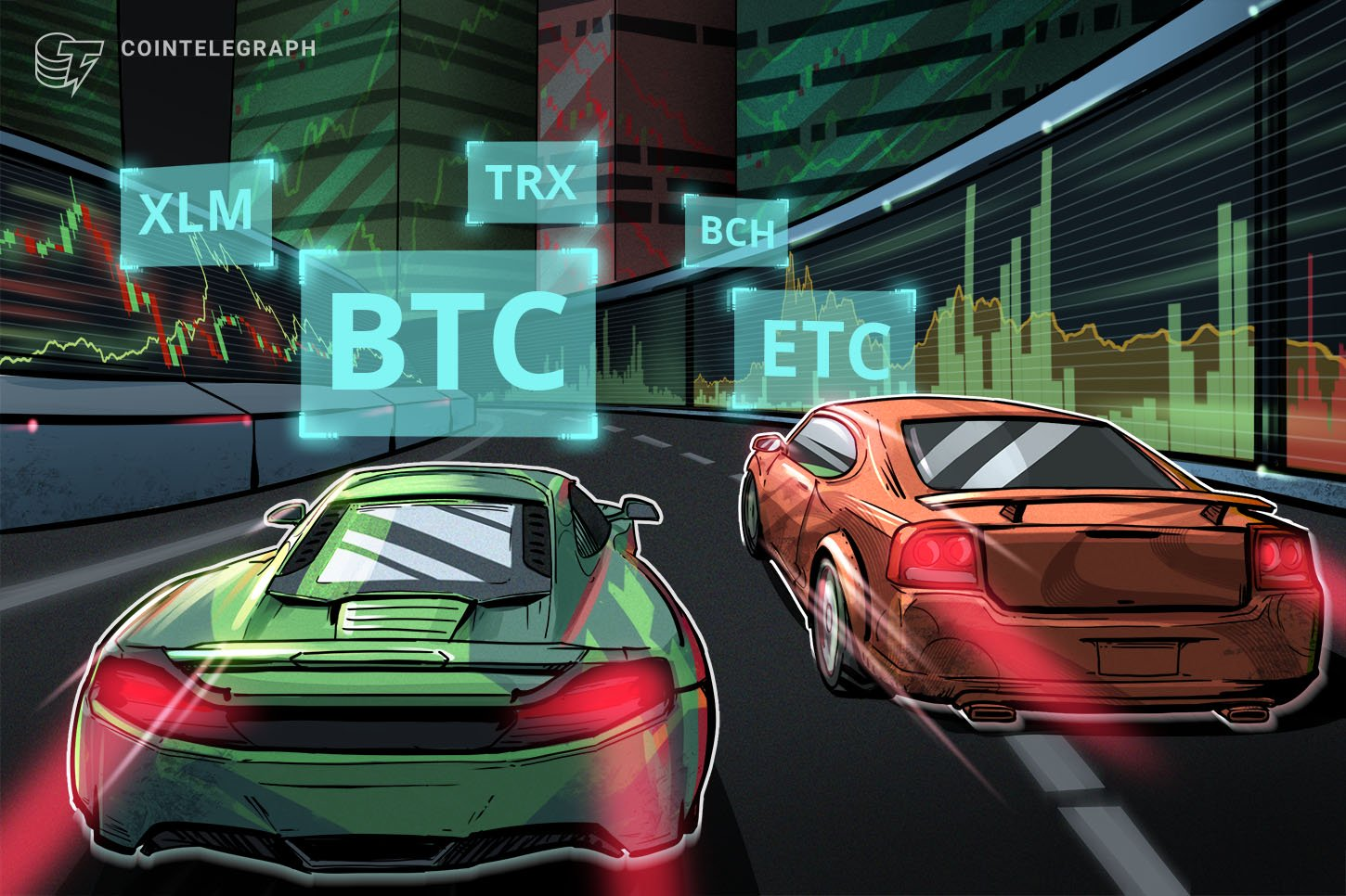 Prime 5 Cryptocurrencies to Watch This Week: BTC, ETC, TRX, BCH, XLM