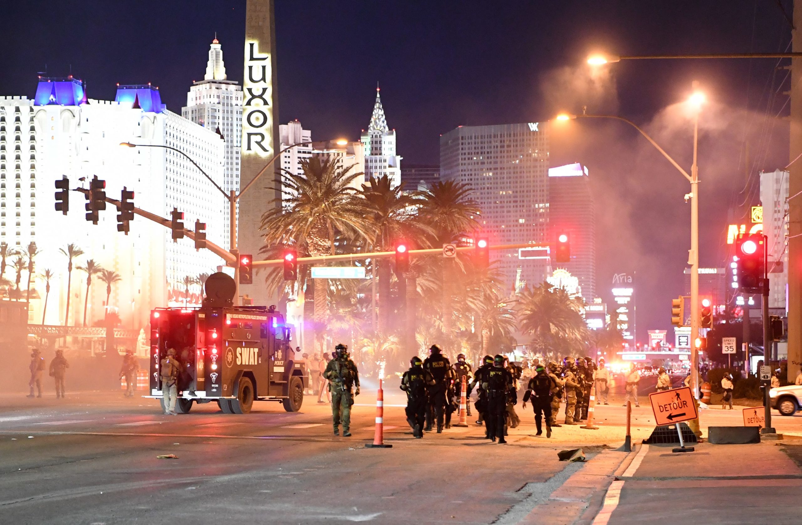 Protests might derail an anticipated robust reopening for Las Vegas casinos