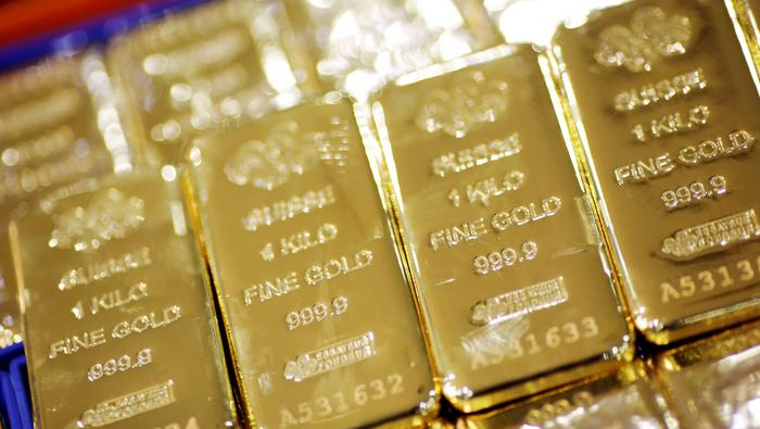 XAU Sinks to Help, Gold Recent Month-to-month Lows