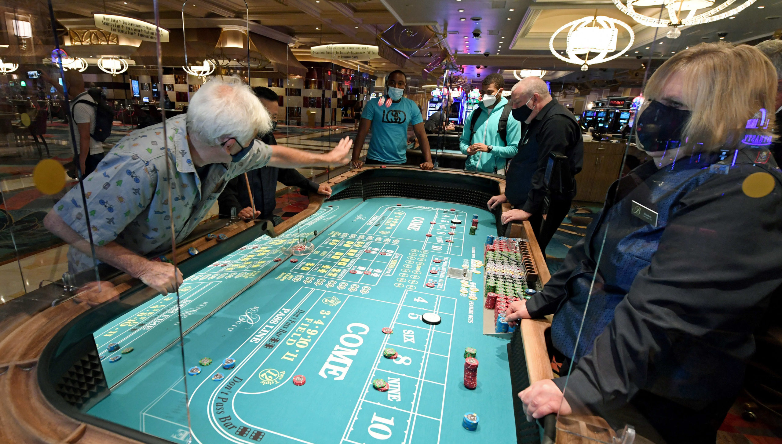 Casinos see robust gross sales regardless of social distancing, proprietor says