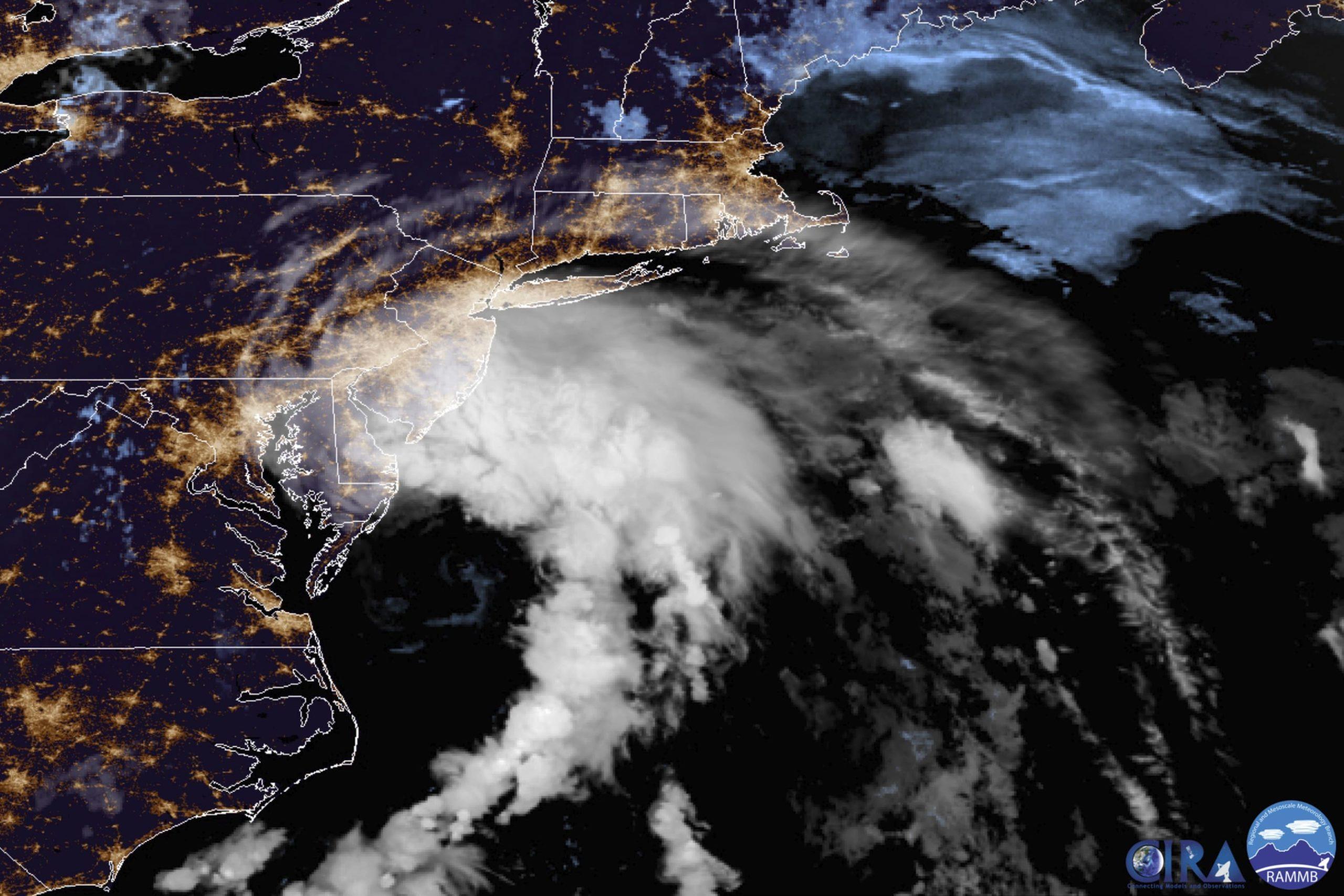 Tropical Storm Fay strikes nearer to mid-Atlantic, New England