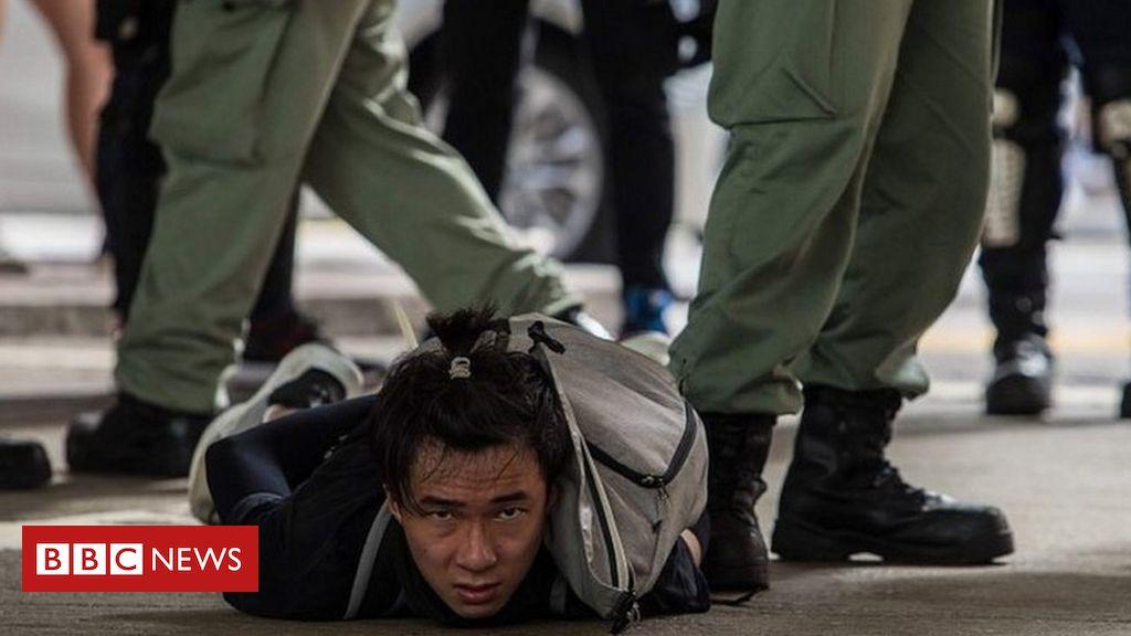 Hong Kong: Raab to set out UK's response to 'anti-protest' legislation