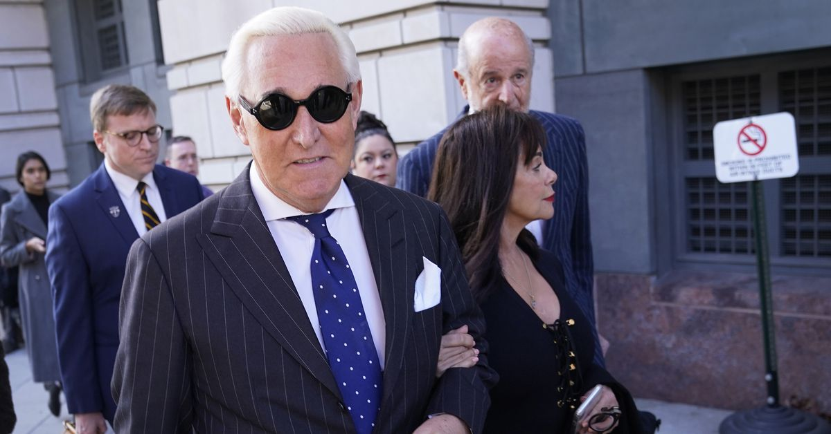 Trump commutes Roger Stone's sentence after his Mueller investigation conviction