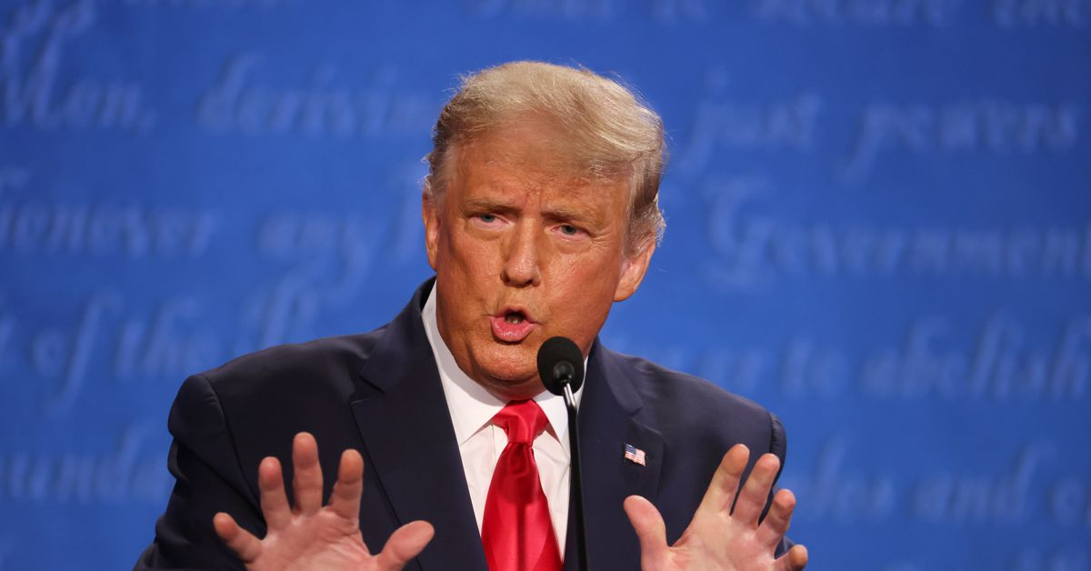 """Presidential debate: Trump says on Covid-19: """"I take full duty. It's not my fault."""""""