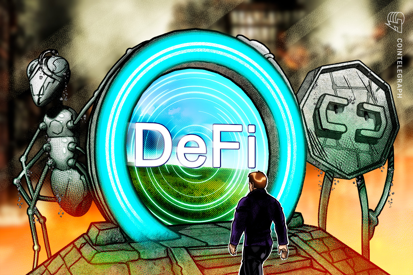 Pantera says they're inserting a heavier guess on DeFi than the remainder of the market