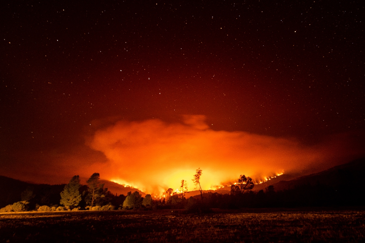 Epic scale of Western wildfires grows as a single hearth surpasses 1M acres