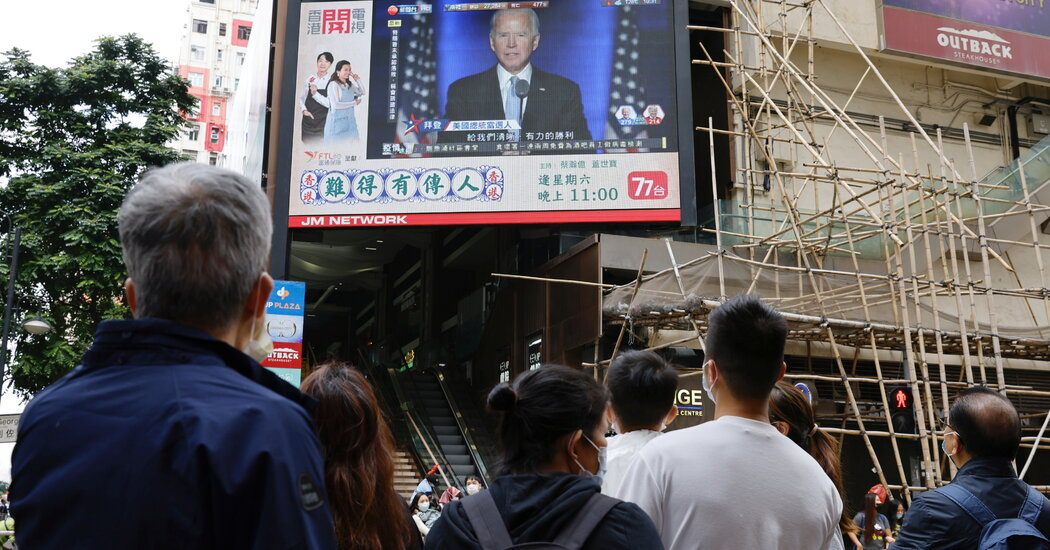 Chinese language State Media Reacts to Biden Victory With Cautious Optimism