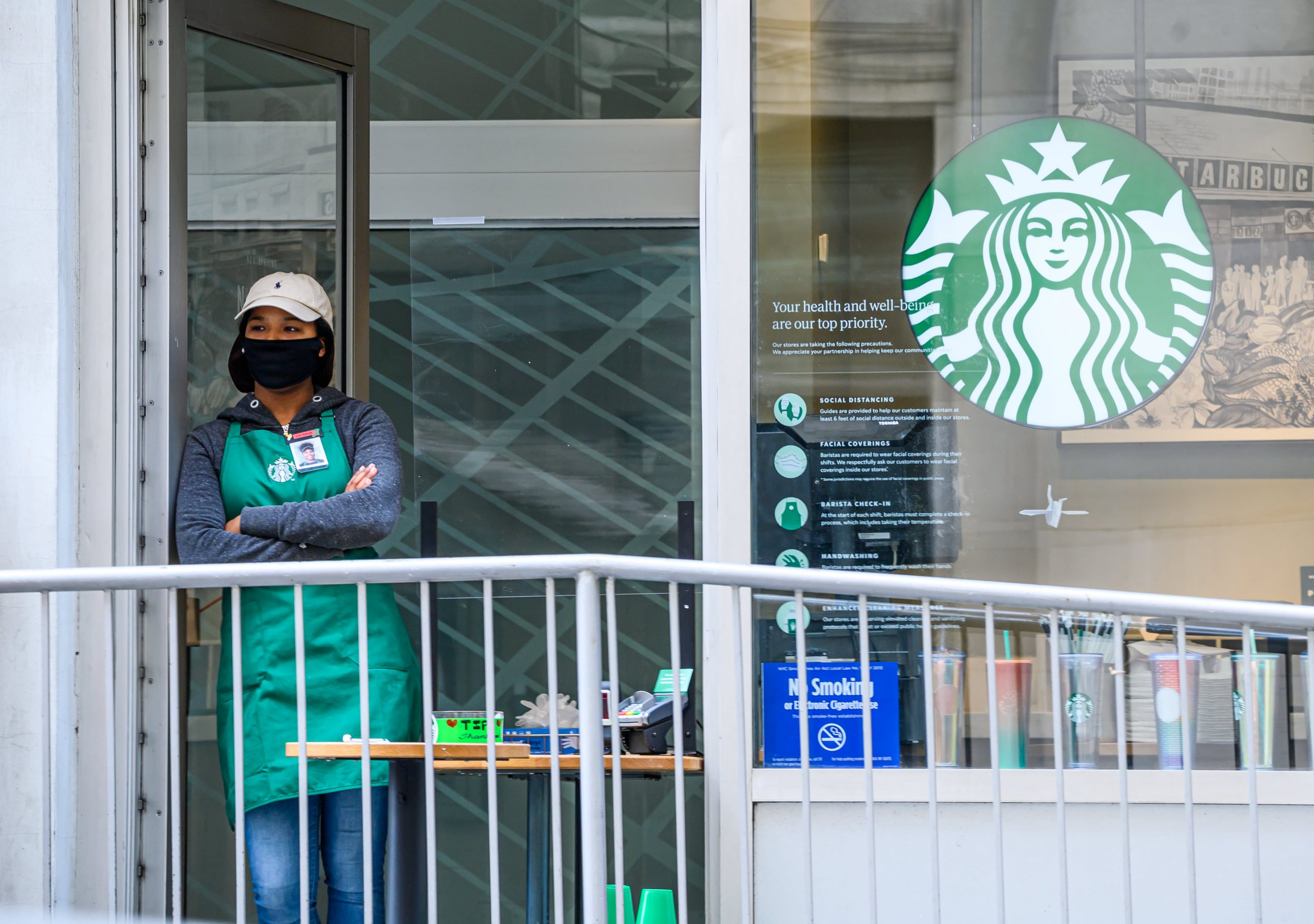 Starbucks tells NLRB to let all Buffalo workers vote on union effort