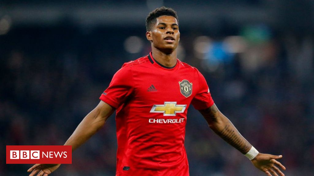 Marcus Rashford: Poor households lacking out on meals vouchers