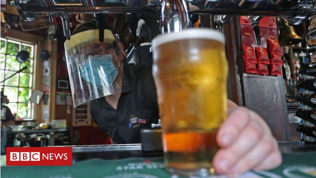 Covid: Senedd consuming a 'attainable breach' of Wales alcohol ban