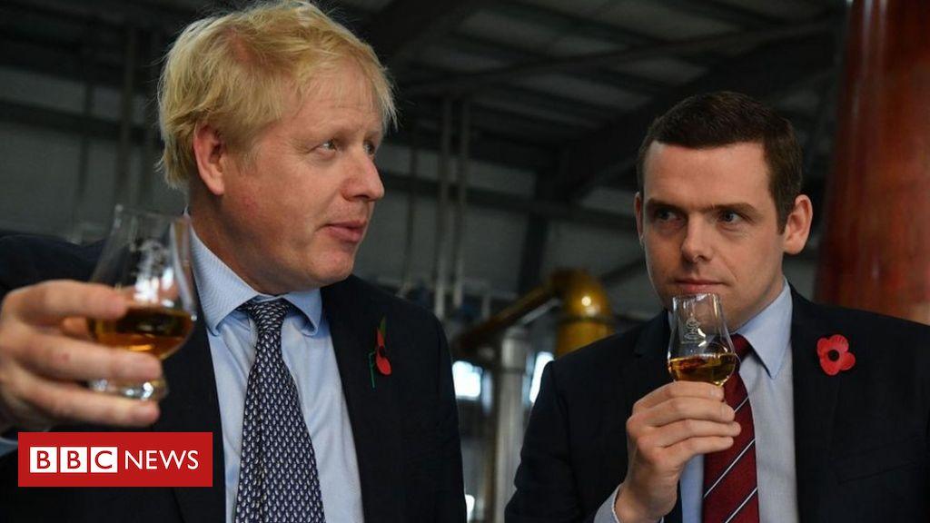 Scots Tory chief says Boris Johnson 'believes in devolution'