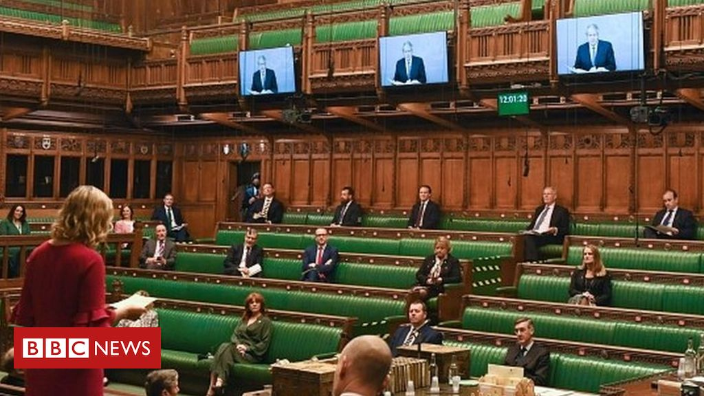 Covid: All MPs ought to participate in debates on-line – report