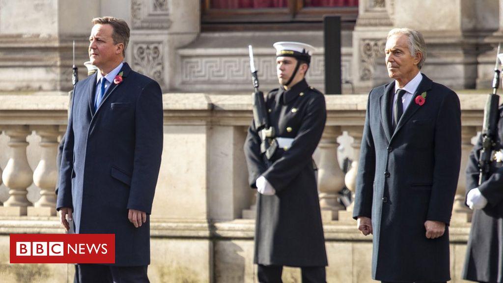 UK international help: Cameron and Blair warn towards price range minimize