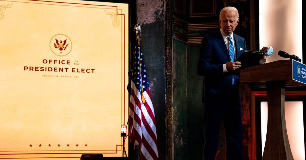 Prime Contenders for Biden's Cupboard Draw Fireplace From All Sides