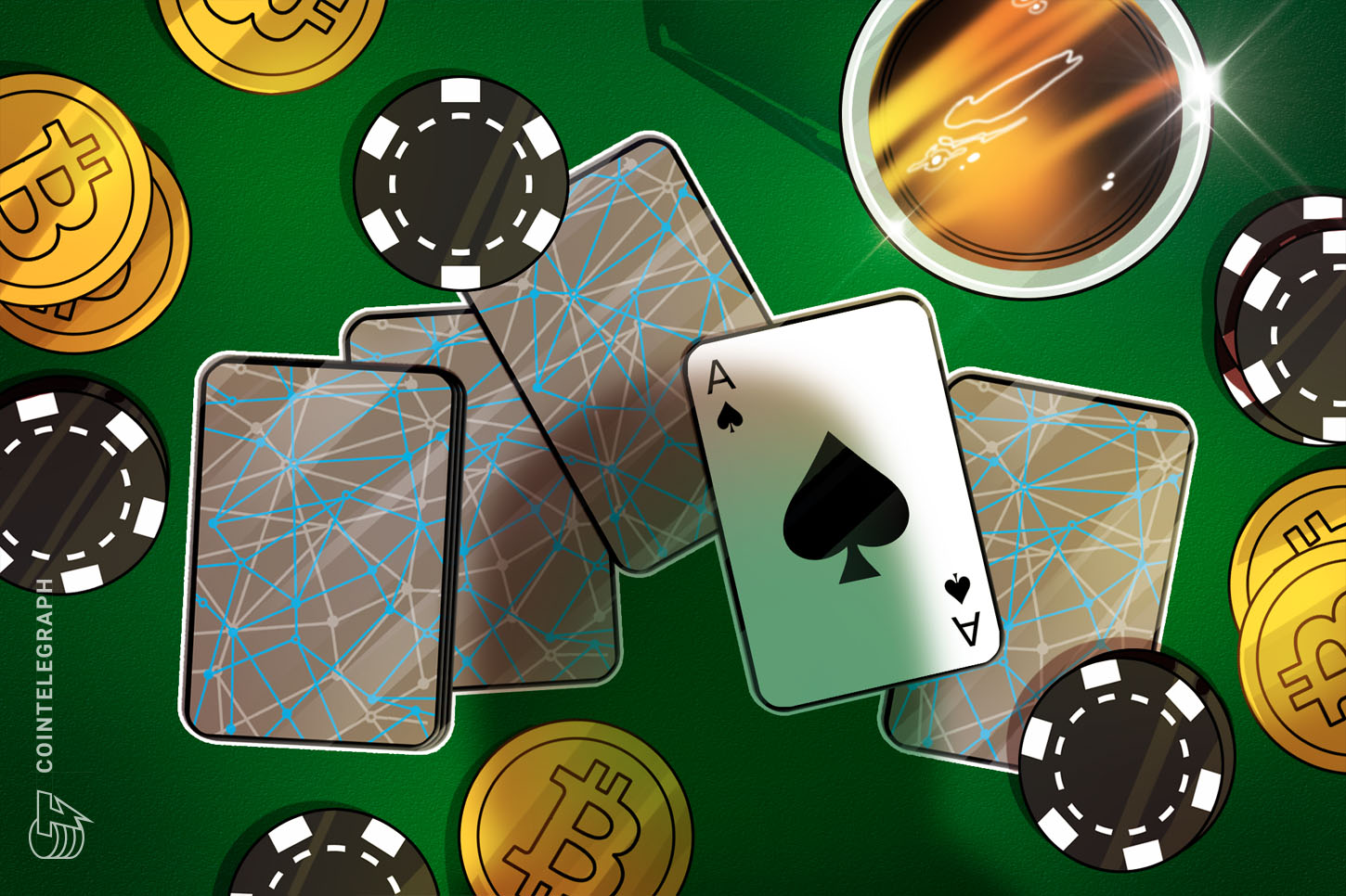 Poker community now provides '95% of payouts' in Bitcoin — round $160M month-to-month