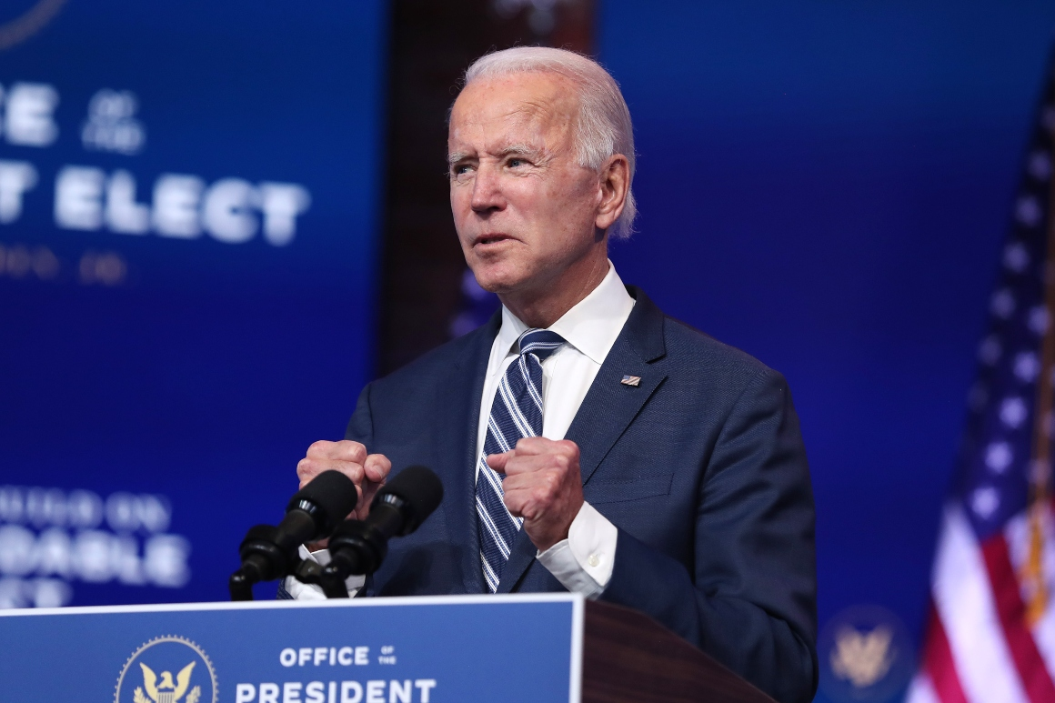 Biden faucets local weather, setting fingers for transition groups