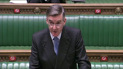 Jacob Rees Mogg on isolating MPs in Parliament debates