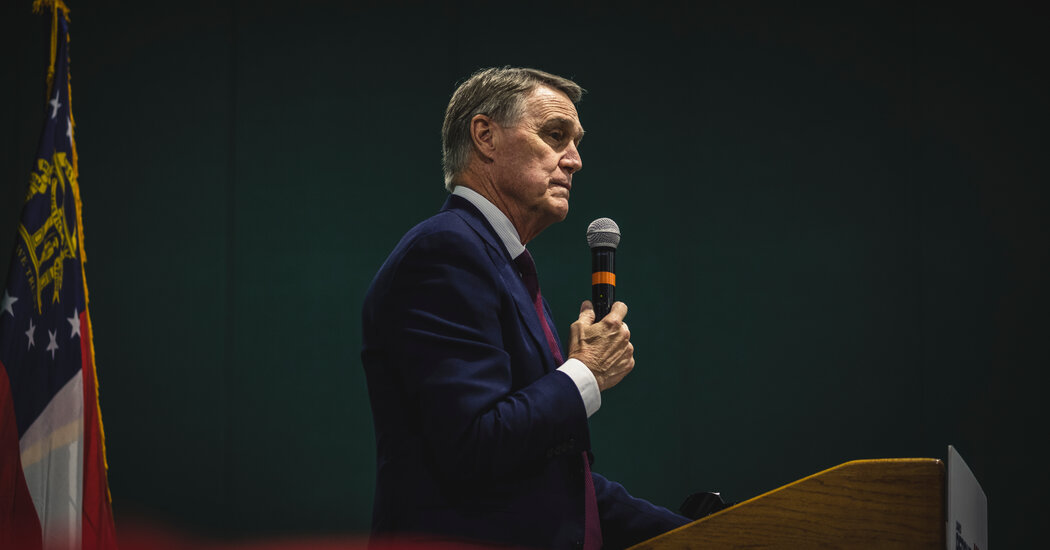 Prolific inventory trades by David Perdue concerned corporations inside his committees' oversight.