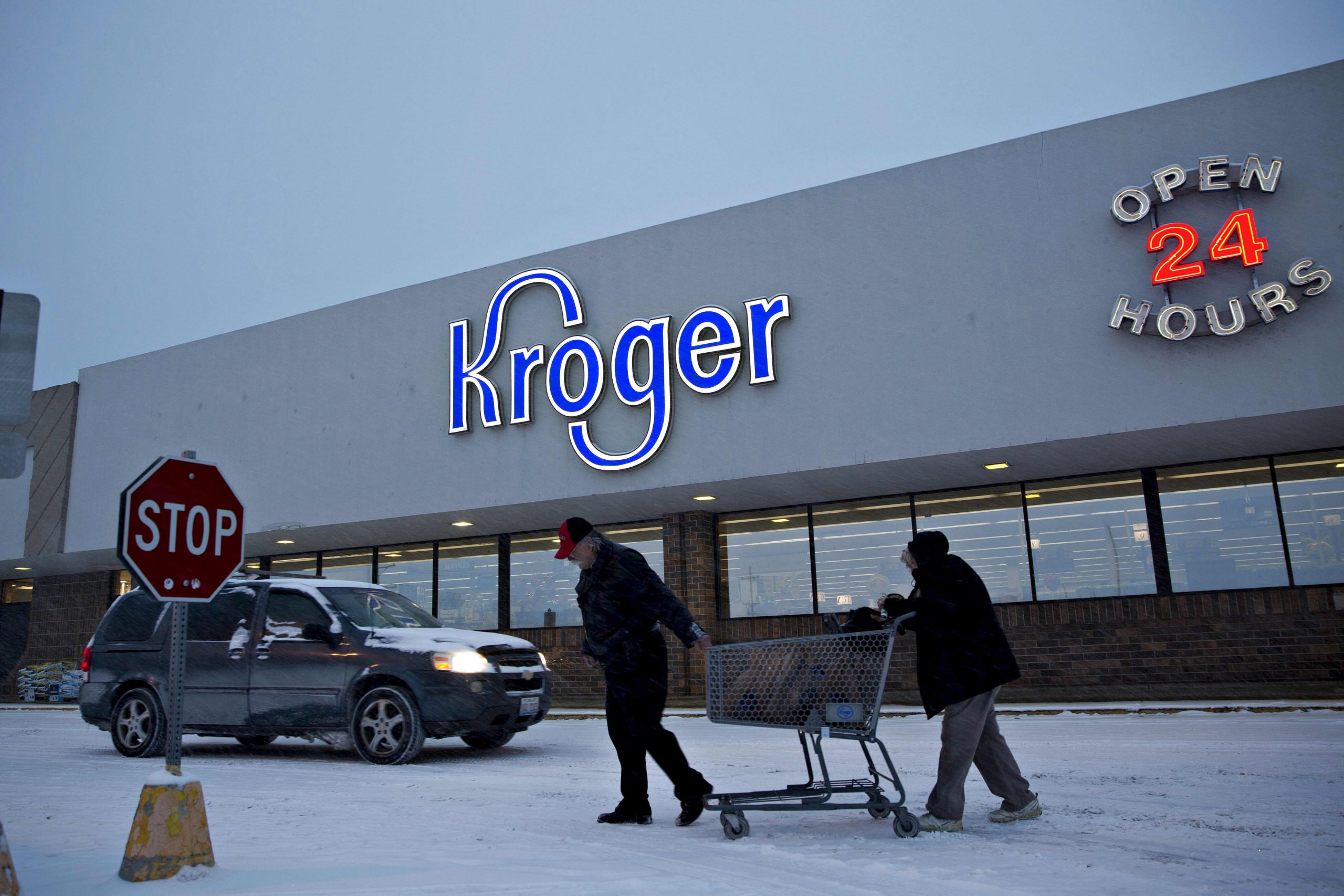 Kroger ready to begin distribution, says CEO