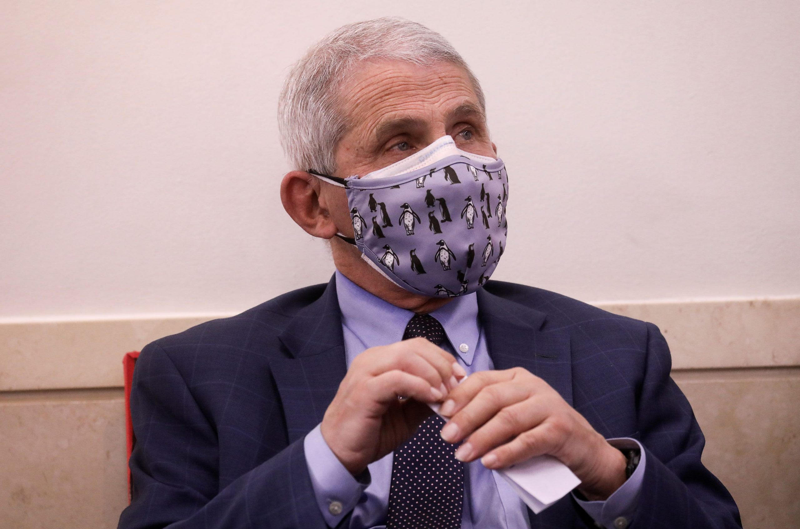 Dr. Fauci says UK's assessment 'much less deep' than U.S.
