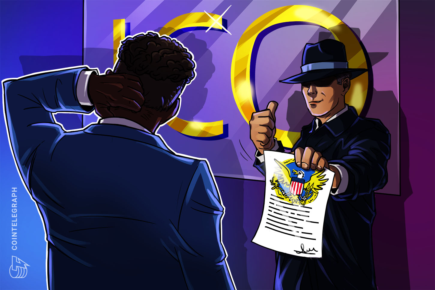 What does VCOIN's SEC authorization imply for securities legislation and crypto?