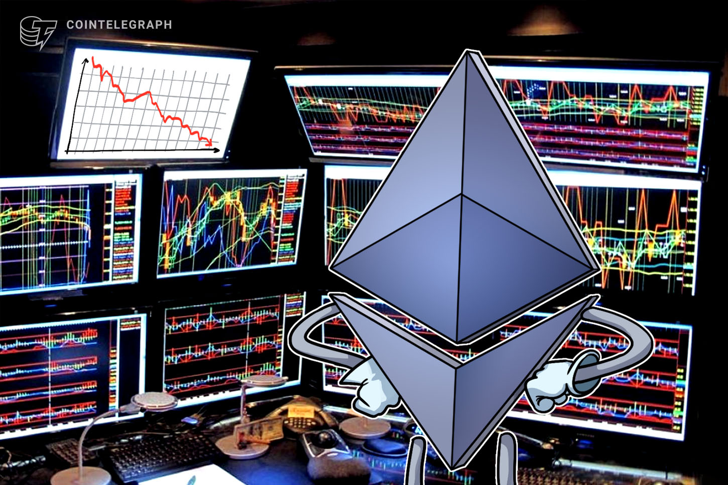 Ethereum tumbles under $600 as XRP debacle takes a toll on altcoins