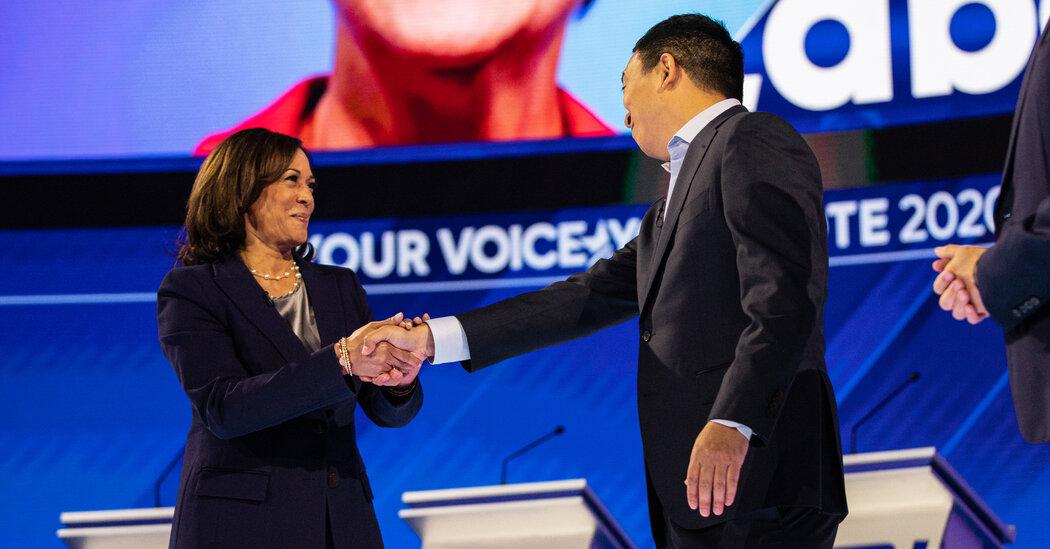 Why Kamala Harris Is a Star of the N.Y.C Mayor's Race