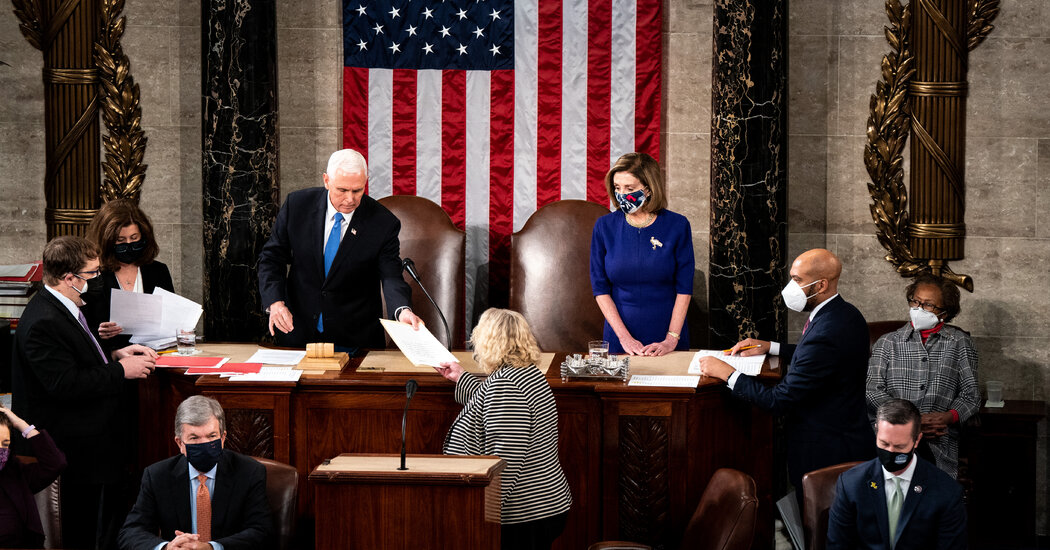 Congress Did Not End Certifying the Election Outcomes. What Occurs Subsequent?