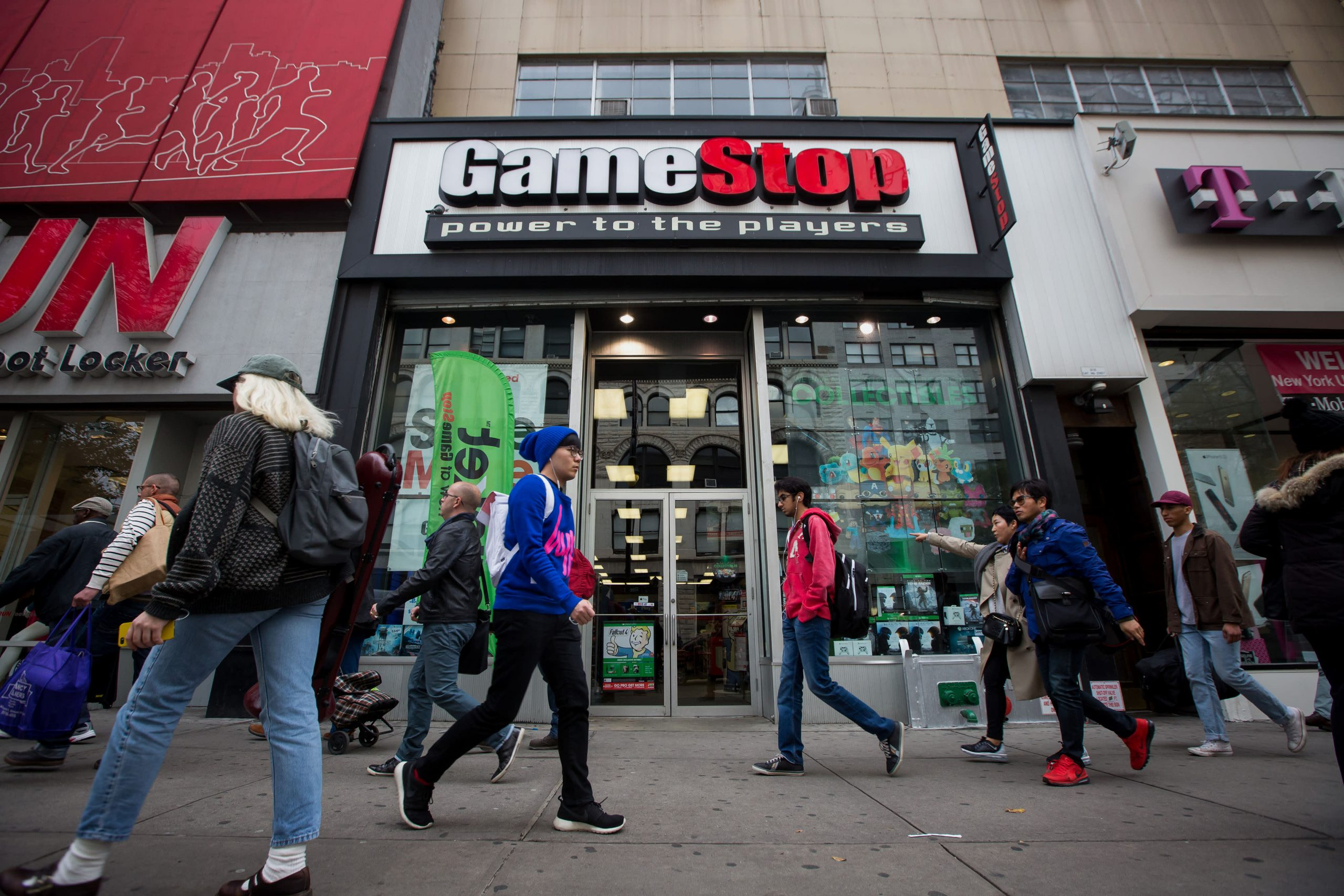 GameStop soars almost 70%, buying and selling briefly halted amid epic brief squeeze