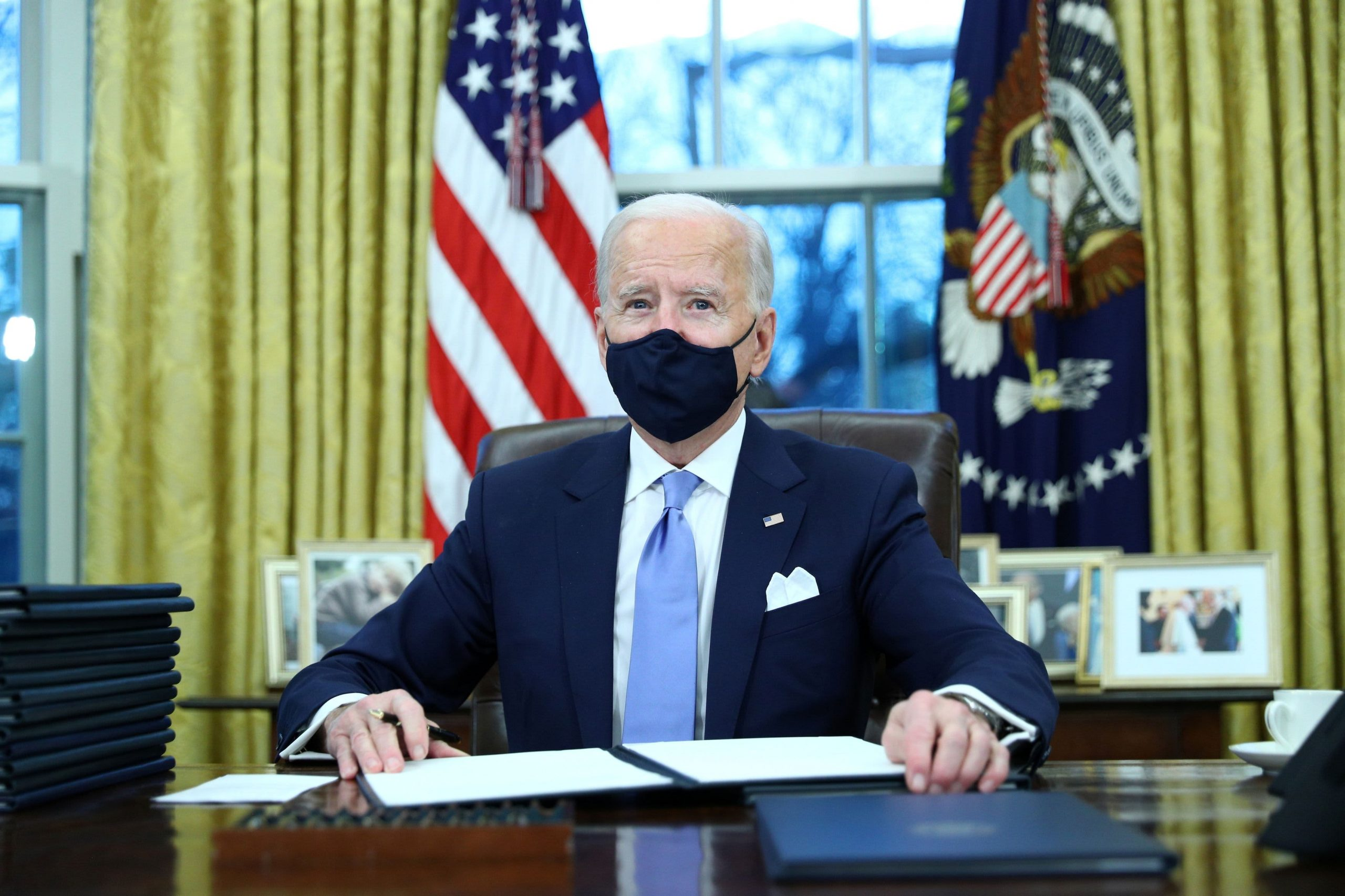 Biden to signal 10 government orders to fight Covid pandemic; invoke Protection Manufacturing Act
