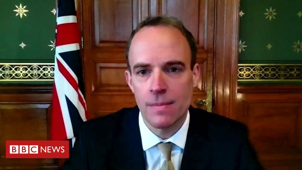 Covid-19: Beating September vaccine goal for all over-18s would a 'bonus' – Raab