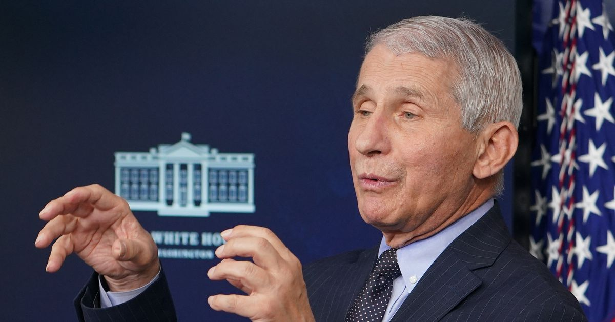 Anthony Fauci throws plenty of shade at Trump in first feedback as Biden adviser