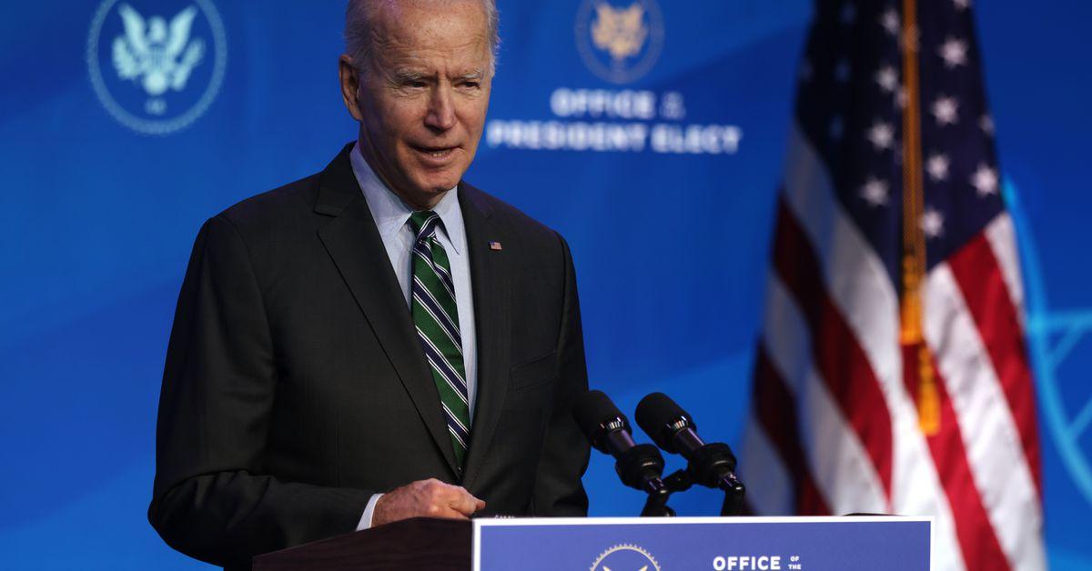 Joe Biden's approval score is greater than Trump's