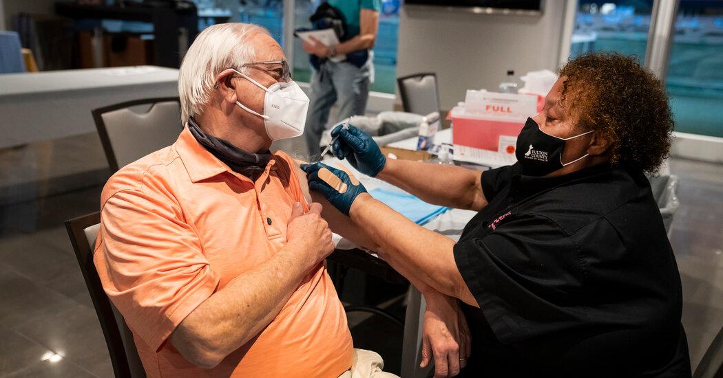 Biden Pledges Federal Vaccine Marketing campaign to Beat a Surging Coronavirus