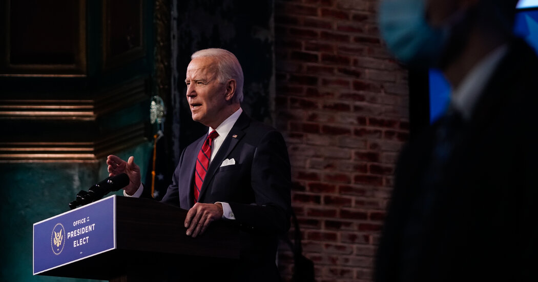 Biden Seeks Fast Begin With Govt Actions and Aggressive Laws