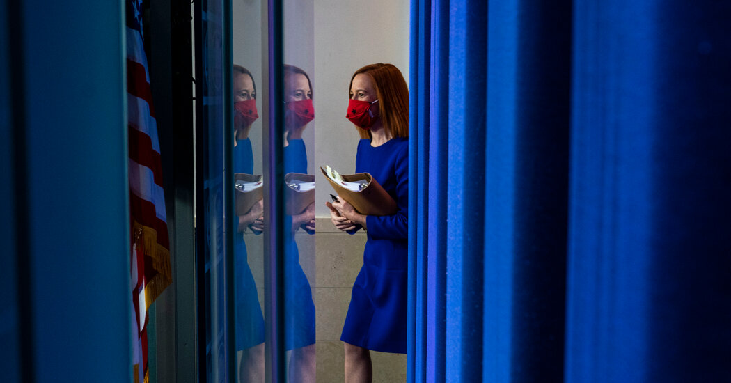 Psaki Tries to Strike a New Tone within the White Home Briefing Room