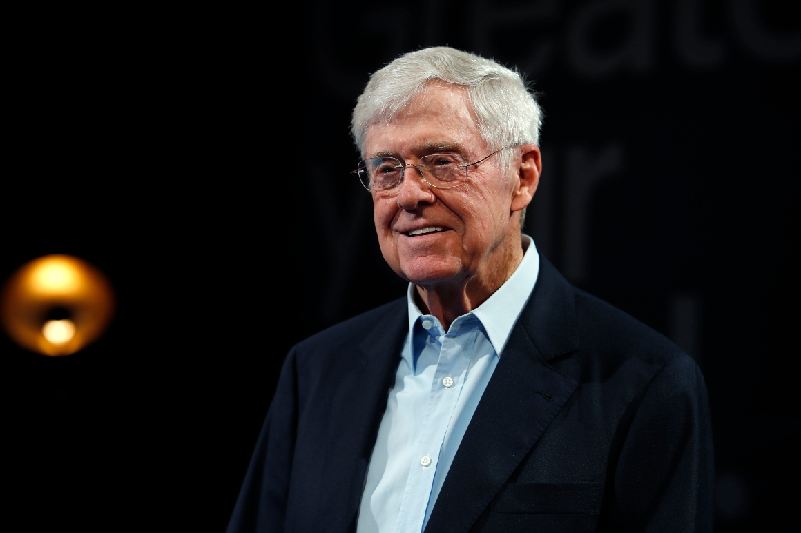 Koch community pledges to 'weigh heavy' lawmakers' actions in riots