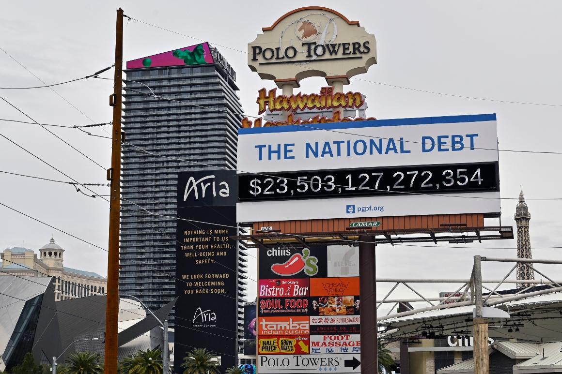 Wall Avenue shrugs at Washington's debt pileup