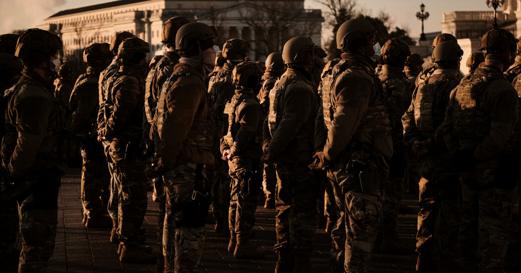 Pentagon Marching The place It As soon as Feared to Go: Armed Troops on the Streets