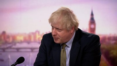 Boris Johnson on an earlier lockdown and harder Covid tier restrictions