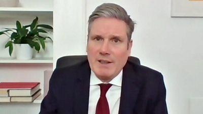 Covid-19: Starmer slams PM on UK demise toll figures