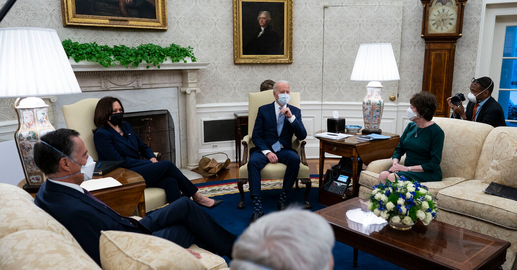 Republicans Pitch Biden on Smaller Support Plan as Democrats Put together to Act Alone