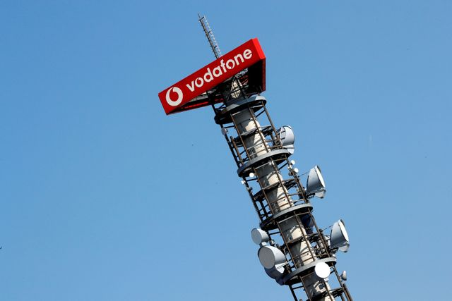 Vodafone's Vantage Towers climbs after Germany's largest IPO in three years