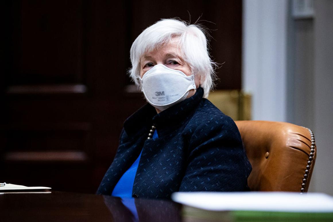 Treasury secretary minimizes danger of inflation attributable to Covid reduction bundle