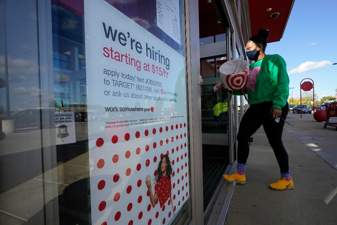 U.S. provides a powerful 379,000 jobs in hopeful signal for financial system