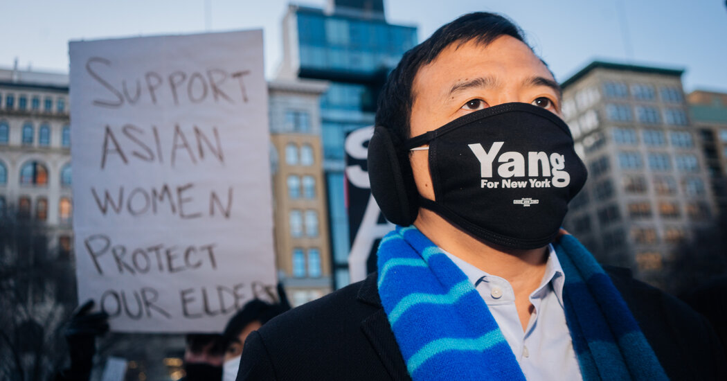 Anti-Asian Assaults Place Andrew Yang within the Highlight. How Will He Use It?