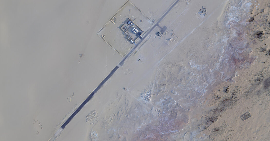 Distant C.I.A. Base within the Sahara Steadily Grows