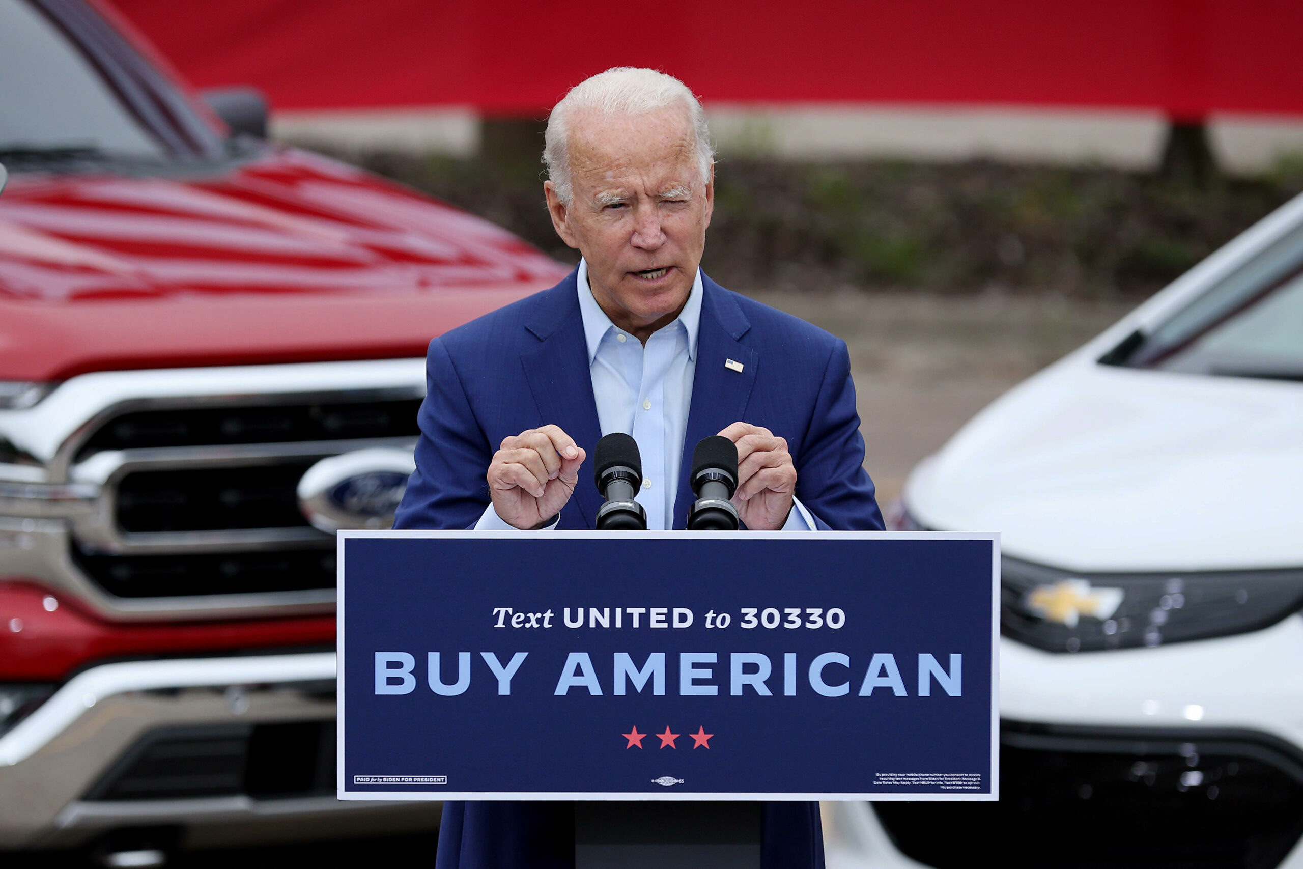 With Biden as an ally, UAW union prepares to battle for EV jobs