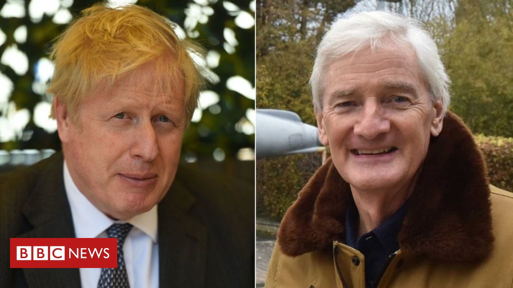 Boris Johnson advised Sir James Dyson by textual content he would 'repair' tax challenge